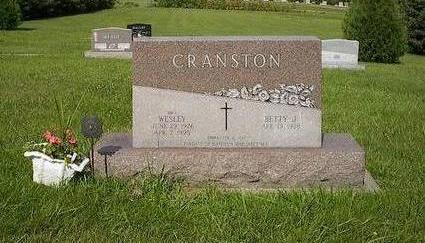 CRANSTON, WESLEY - Iowa County, Iowa | WESLEY CRANSTON