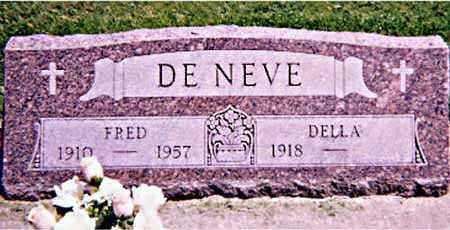 DE NEVE, FREDERICK - Iowa County, Iowa | FREDERICK DE NEVE