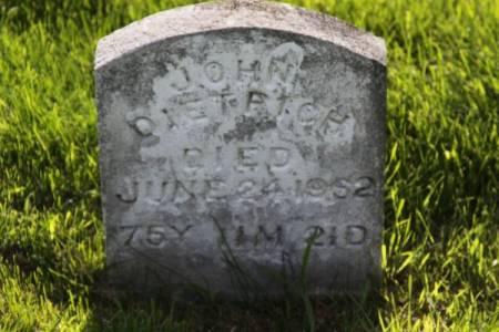 DIETRICH, JOHN - Iowa County, Iowa   JOHN DIETRICH