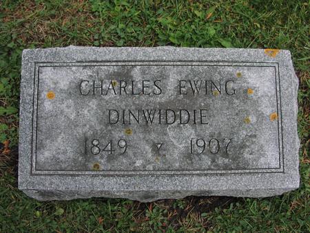DINWIDDIE, CHARLES EWING - Iowa County, Iowa | CHARLES EWING DINWIDDIE