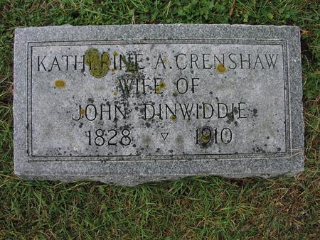 DINWIDDIE, KATHERINE A. - Iowa County, Iowa | KATHERINE A. DINWIDDIE