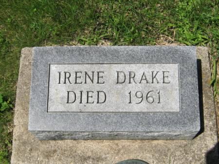 DRAKE, IRENE - Iowa County, Iowa | IRENE DRAKE
