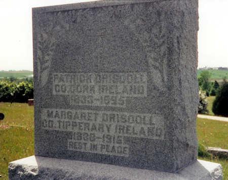 DRISCOLL, MARGARET - Iowa County, Iowa   MARGARET DRISCOLL