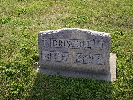 DRISCOLL, PATRICK L. - Iowa County, Iowa | PATRICK L. DRISCOLL