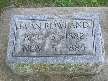 ROWLAND, EVAN - Iowa County, Iowa | EVAN ROWLAND