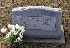 EVANS, STEVEN G. - Iowa County, Iowa   STEVEN G. EVANS