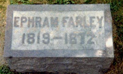 FARLEY, EPHRAIM - Iowa County, Iowa | EPHRAIM FARLEY