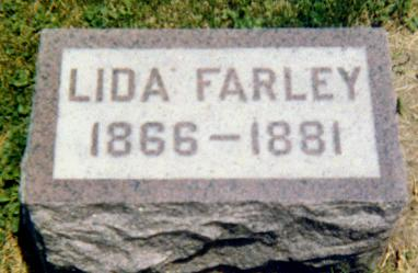 FARLEY, LIDA - Iowa County, Iowa   LIDA FARLEY