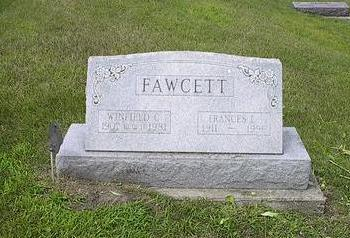 FAWCETT, FRANCES I. - Iowa County, Iowa | FRANCES I. FAWCETT