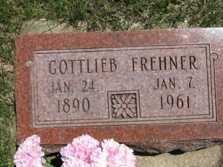 FREHNER, GOTTLIEB - Iowa County, Iowa | GOTTLIEB FREHNER