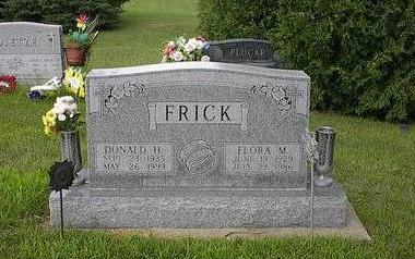 FRICK, DONALD H. - Iowa County, Iowa | DONALD H. FRICK