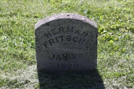 FRITSCHE, HERMAN - Iowa County, Iowa | HERMAN FRITSCHE
