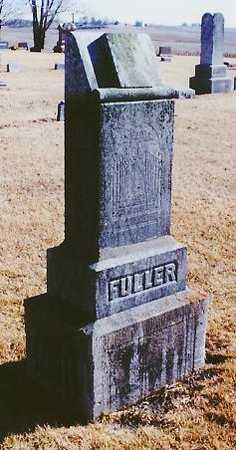 FULLER, HANNAH B - Iowa County, Iowa | HANNAH B FULLER