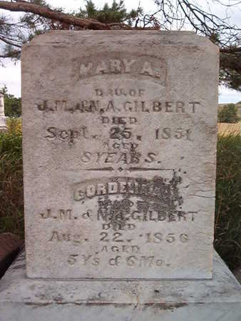 GILBERT, MARY A. - Iowa County, Iowa | MARY A. GILBERT