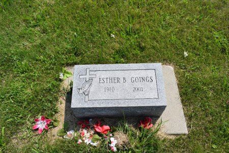 GOINGS, ESTHER B. - Iowa County, Iowa | ESTHER B. GOINGS