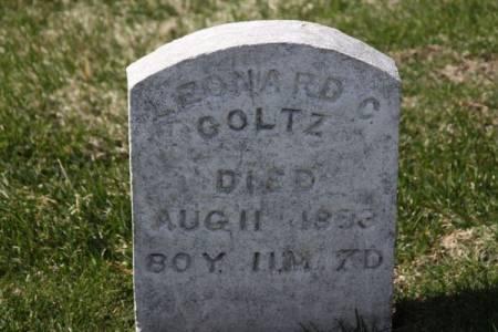 GOLTZ, LEONARD C. - Iowa County, Iowa | LEONARD C. GOLTZ