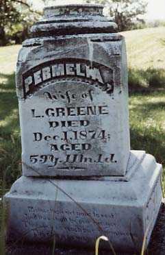 GREENE, PERMELIA - Iowa County, Iowa | PERMELIA GREENE