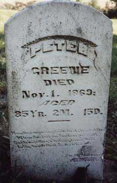 GREENE, PETER - Iowa County, Iowa | PETER GREENE