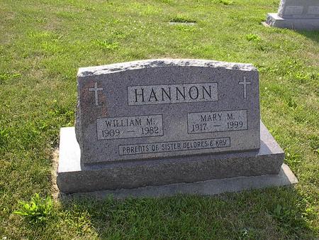 KELLY HANNON, MARY M. - Iowa County, Iowa | MARY M. KELLY HANNON