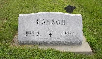 HANSON, GLENN A. - Iowa County, Iowa | GLENN A. HANSON