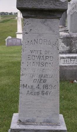 GRAY HANSON, HANORAH - Iowa County, Iowa | HANORAH GRAY HANSON