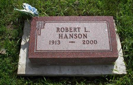 HANSON, ROBERT L. - Iowa County, Iowa   ROBERT L. HANSON