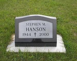 HANSON, STEPHEN M. - Iowa County, Iowa | STEPHEN M. HANSON