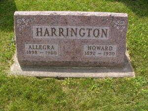 HARRINGTON, HOWARD - Iowa County, Iowa | HOWARD HARRINGTON