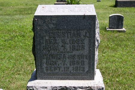 HARTMAN, CHRISTIAN J. - Iowa County, Iowa | CHRISTIAN J. HARTMAN