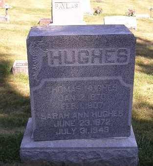 HUGHES, SARAH - Iowa County, Iowa | SARAH HUGHES