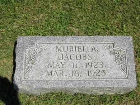 JACOBS, MURIEL A - Iowa County, Iowa | MURIEL A JACOBS