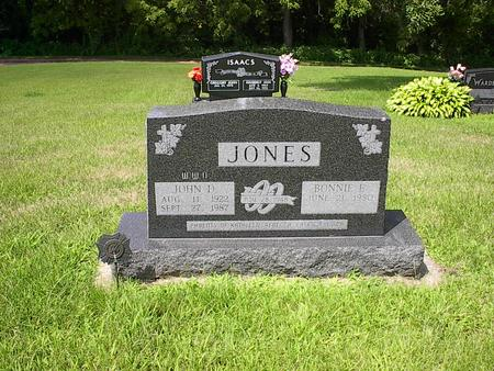 JONES, BONNIE E. - Iowa County, Iowa | BONNIE E. JONES