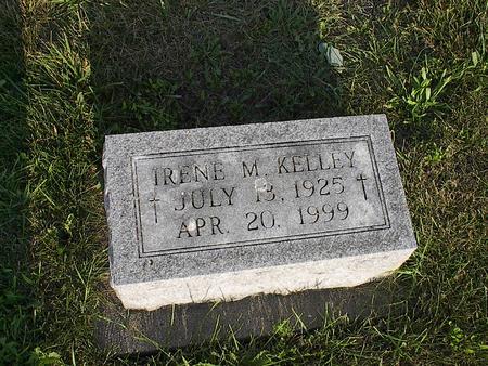 KELLEY, IRENE M. - Iowa County, Iowa   IRENE M. KELLEY