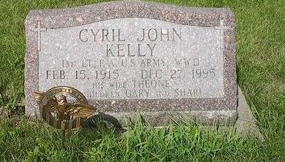 KELLY, CYRIL J. - Iowa County, Iowa | CYRIL J. KELLY