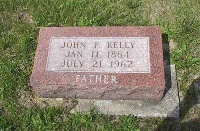 KELLY, JOHN F. - Iowa County, Iowa   JOHN F. KELLY