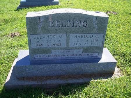 KELTING, HAROLD C. - Iowa County, Iowa | HAROLD C. KELTING