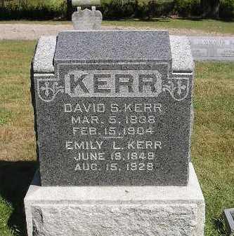 KERR, DAVID S - Iowa County, Iowa | DAVID S KERR