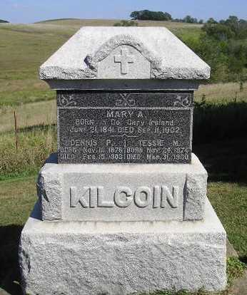 KILCOIN, DENNIS P - Iowa County, Iowa | DENNIS P KILCOIN