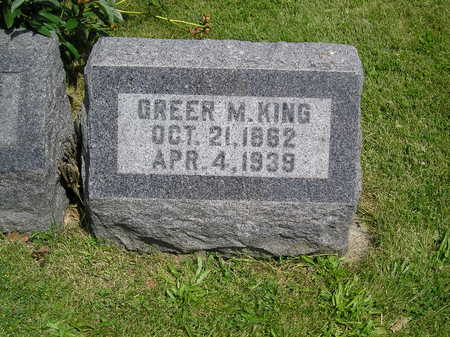 KING, GREER MCILVAINE - Iowa County, Iowa | GREER MCILVAINE KING