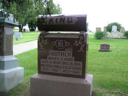 KING, MARY JANE - Iowa County, Iowa | MARY JANE KING