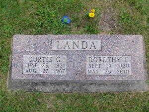 LANDA, DOROTHY E. - Iowa County, Iowa | DOROTHY E. LANDA