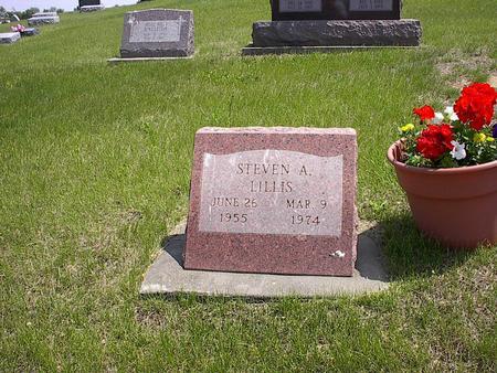 LILLIS, STEVEN - Iowa County, Iowa | STEVEN LILLIS