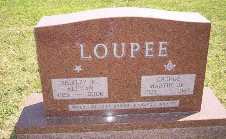 LOUPEE, SHIRLEY N. - Iowa County, Iowa | SHIRLEY N. LOUPEE
