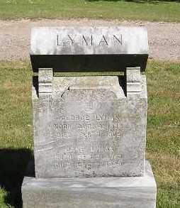 LYMAN, LANE - Iowa County, Iowa   LANE LYMAN