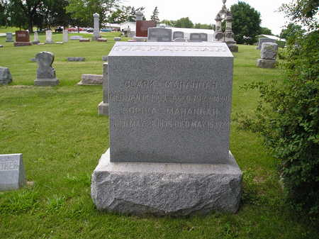 WIER MAHANNAH, SOPHIA - Iowa County, Iowa | SOPHIA WIER MAHANNAH