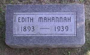 SMITH MAHANNAH, EDITH - Iowa County, Iowa | EDITH SMITH MAHANNAH
