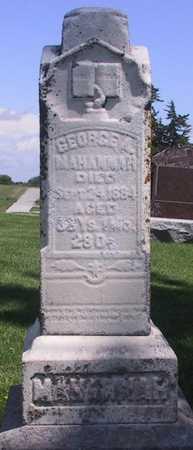 MAHANNAH, GEORGE A. - Iowa County, Iowa | GEORGE A. MAHANNAH