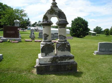MAHANNAH, LOUISA J. - Iowa County, Iowa | LOUISA J. MAHANNAH