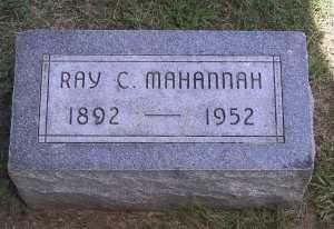 MAHANNAH, RAY CHARLES - Iowa County, Iowa | RAY CHARLES MAHANNAH