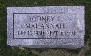 MAHANNAH, RODNEY - Iowa County, Iowa | RODNEY MAHANNAH